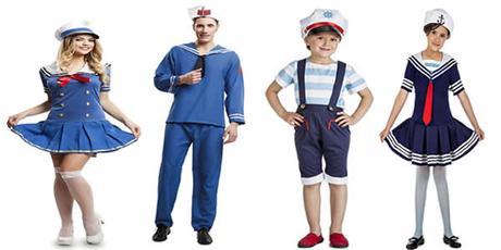 Disfraces en grupo  originales para familias