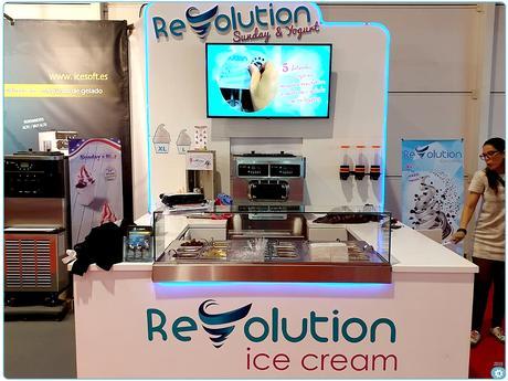Feria BARHOTEL Portugal 2019 Maquina para hacer helado. Corner Revolution