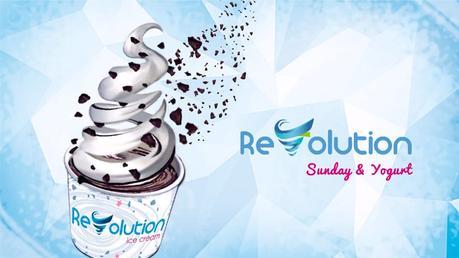 Maquinas mezcladora de helado y toppings. Revolution