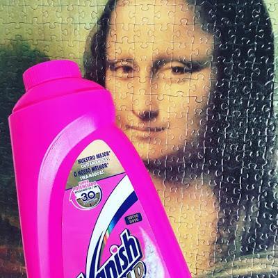 Detergente Vanish Gold