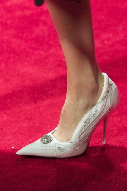 white shoes calvin Klein