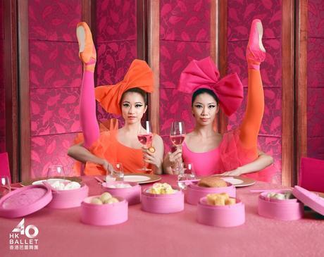 Una colorida y dinámica campaña para celebrar el 40 aniversario del Ballet de Hong Kong