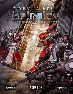 Panoceania y Nómadas en PDF y físico para Infinity RPG