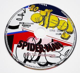 Spiderman un nuevo universo, Análisis de la edición Bluray y UHD