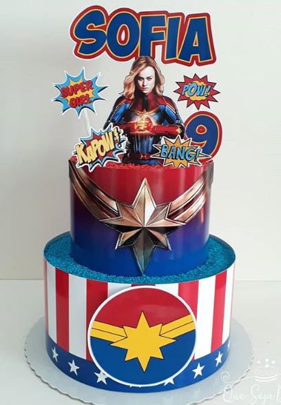 Fiesta temática Capitana Marvel