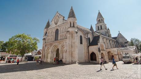 Iglesia Notre-Dame la Grande Poitiers turismo que ver viaje Francia