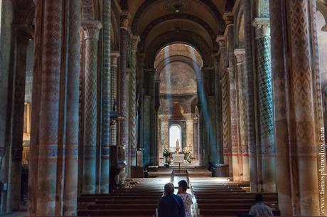 Iglesia Notre-Dame la Grande Poitiers turismo viaje Francia