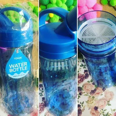 botella portatil, botella deportiva, XL