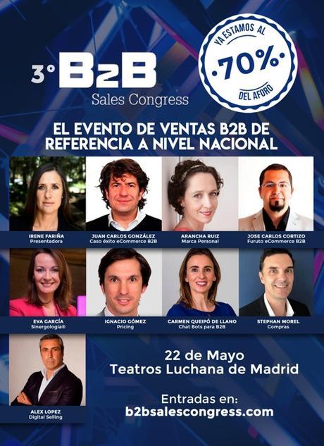 Vuelve el evento B2B Sales Congress