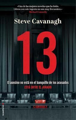 13 - Steve Cavanagh