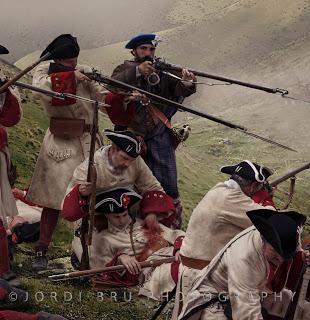 La batalla de Glenshiel 1719.