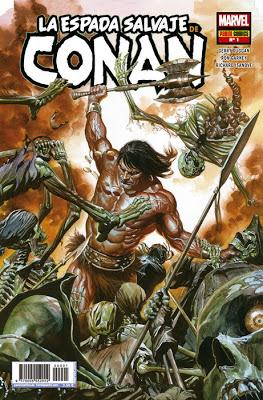 Critiquita 485: La espada salvaje de Conan nº 1, G. Duggan y R. Garney, Marvel-Panini 2019