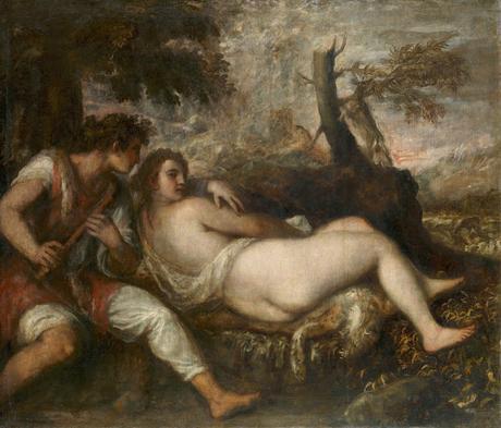 Alegoría del deseo misterioso en el ocaso de una vida longeva en el Arte.