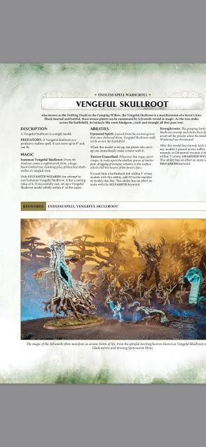 Mega filtración del Battletome de Sylvaneth para AoS - Paperblog