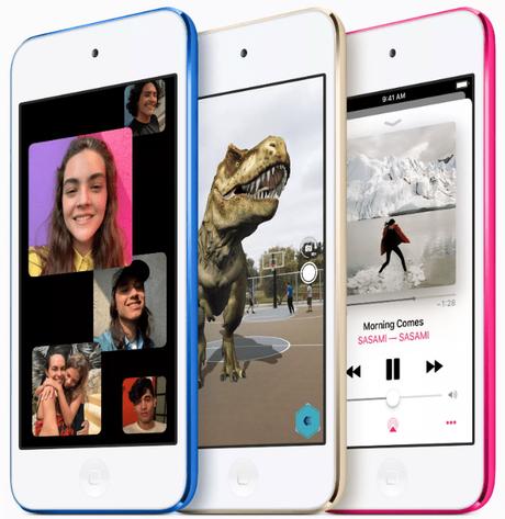 Apple renueva el iPod touch: chip A10 y 256GB