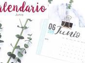 Freebie: Calendario Junio