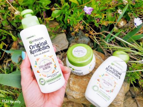 Garnier | Original Remedies Leche de Almendra Nutritiva (Vegan)