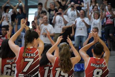 Galería de emociones del GEiEG Uni Girona-CTEIB (fase de ascenso a Liga Femenina 2)