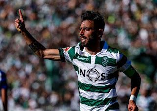 Bruno Fernandes, el mejor jugador de la Liga Portugal