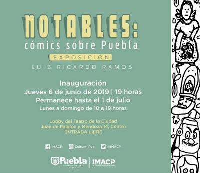 Notables: cómics sobre Puebla