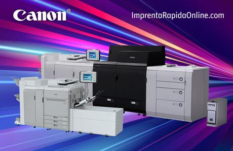 ImprentaRapidaOnline.com y Canon España firman nuevos acuerdos para renovación de sus prensas digitales