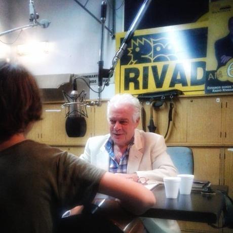 "Estuvimos ""Hablando de Arte"", por Radio Rivadavia"