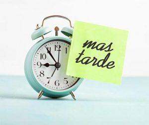 Procrastinar, el arte de posponer. Su significado y como superarlo.