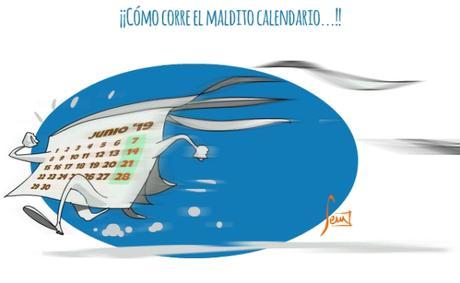 tempus fugit: el calendario corre que vuela