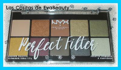 Paleta sombras Perfect Filter de NYX. Tono 03 OLIVE YOU