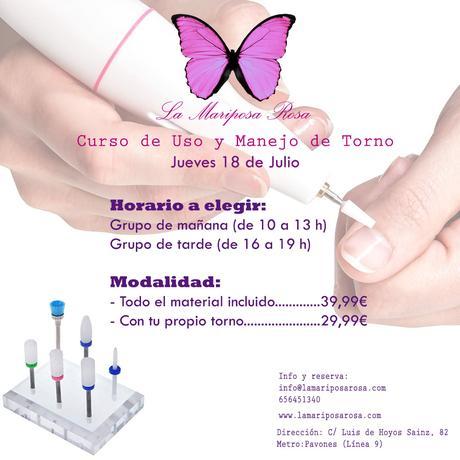 curso de torno uñas nails manicura rusa