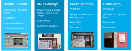 Clínicas de úlceras crónicas (C.M.U.C.) en España