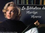 Biblioteca Marilyn Monroe, lectora escritora.