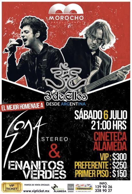 Tributo a Soda Stereo en San Luis Potosí