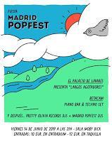 Fiesta Madrid Popfest en Moby Dick Club