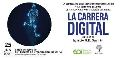 Vídeo: Hoy vengo a hablar de mi libro, La Carrera Digital