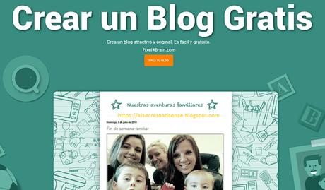 Crear tu blog o página web de forma gratuita