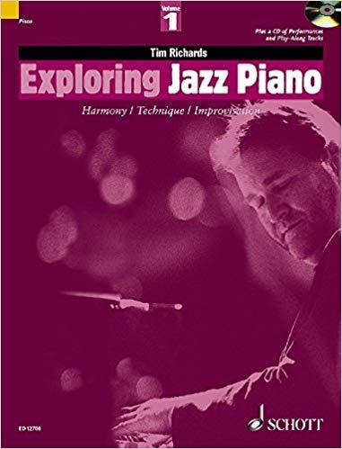 Exploring Jazz Piano Vol.1 y 2 (Tim Richards) + AUDIOS [DESCARGAR PDF]