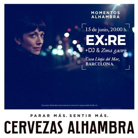 Ex:Re (cantante de Daughter) en el ciclo Momentos Alhambra en Barcelona