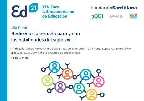 """""""Transformar la escuela desde la gestión"""" será el eje del XIV Foro Latinoamericano de Educación"""