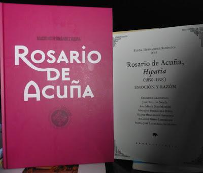 ROSARIO DE ACUÑA EN EL CANDELERO EDITORIAL