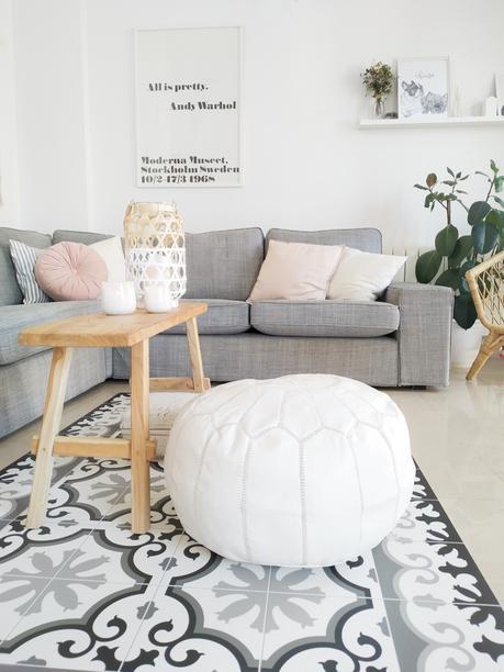 Cambia tu salón con una alfombra vinílica ¿te animas?
