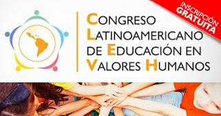 Congreso Latinoamericano de Educación en Valores Humanos