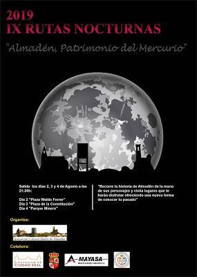 IX Rutas Nocturnas de Almadén 2019
