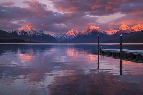 Lake-McDonald-sunset-must-see-in-Glacier-National-Park.jpg.optimal ▷ Ideas del itinerario del Parque Nacional Glacier de 1 a 5 días