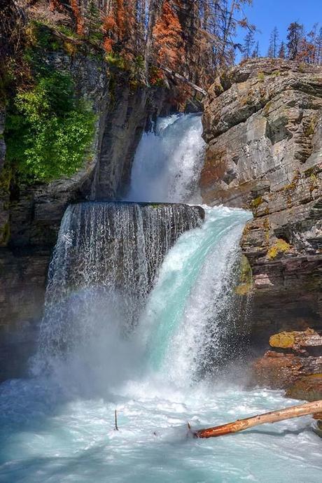 St-Mary's-Falls-in-Glacier-National-Park.jpg.optimal ▷ Ideas del itinerario del Parque Nacional Glacier de 1 a 5 días