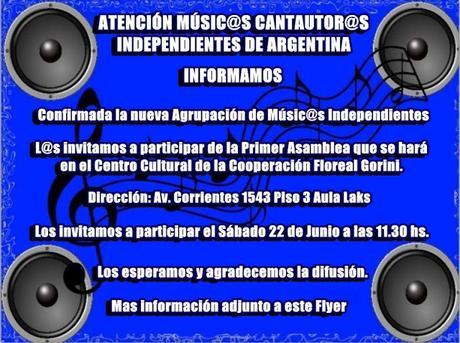 Invitación a la Agrupación de Músicos Independientes