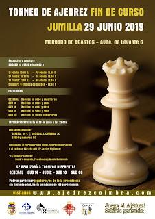 Torneo de Ajedrez Fin de Curso Jumilla 2019