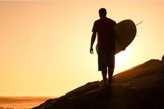 El jubilado surfista