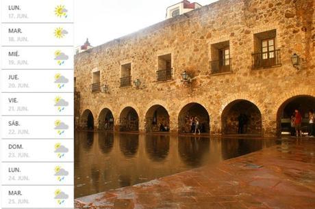 Se pronostica semana lluviosa y con calor para San Luis Potosí