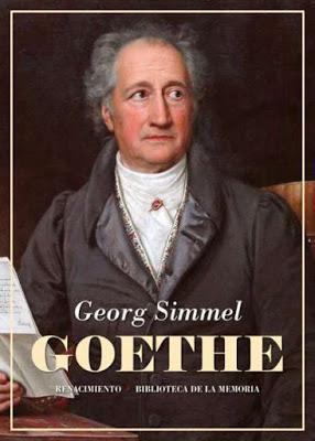 Georg Simmel. Goethe